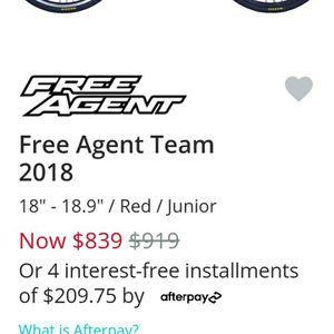Free Agent 2018 Race Bmx junior Size 24' for Sale in Show Low, AZ