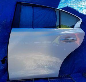 2014-2018 INFINITI Q50 REAR LEFT DRIVER SIDE DOOR for Sale in Fort Lauderdale, FL