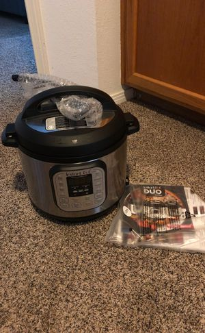 Instant Pot DUO60 6 Qt 7-in-1 Multi-Use Programmable Pressure Cooker, Slow Cooker, Rice Cooker, Steamer, Sauté, Yogurt Maker and Warmer for Sale in Laguna Beach, CA