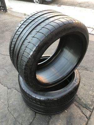 325/30/19 Michelin tires for corvette (2 for $220) for Sale in Norwalk, CA