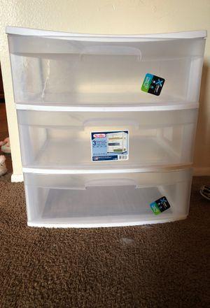 Plastic storage drawers for Sale in Brandon, FL