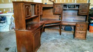 Computer desk and library corner for Sale in Moorestown, NJ