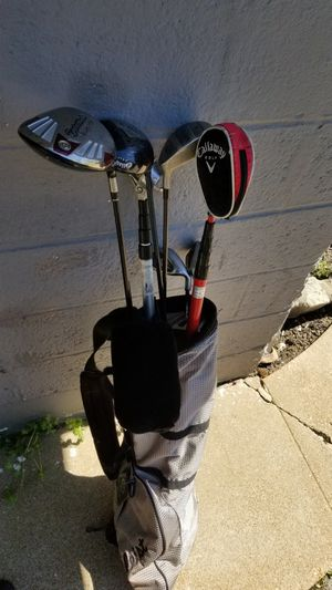 Set of random golf clubs for Sale in St. Louis, MO