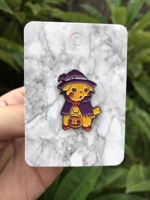 Trick or Treating Pikachu Pokemon in Costume Halloween Pin for Sale in Los Angeles, CA