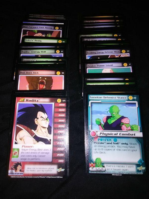 Dragonball Z cards