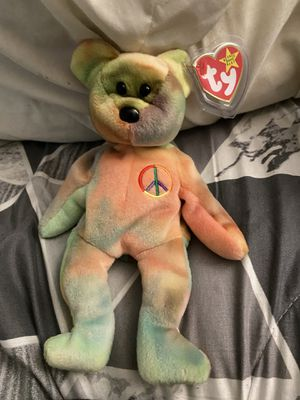 Peace beanie baby for Sale in Falls Church, VA