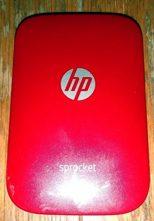 HP sprocket plus Bluetooth wireless photo printer for Sale in Wichita, KS