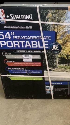 "Brand new 54"" basketball hoop nba Spalding for Sale in Brea, CA"