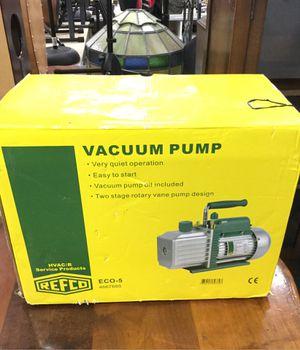 Refco Eco-5 Vacuum Pump New in Original Box for Sale in Chula Vista, CA