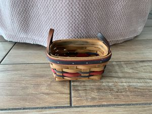 Longaberger 1993 All Star Tea Basket for Sale in Dunedin, FL