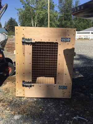Wooden dog crate for Sale in Baltimore, MD