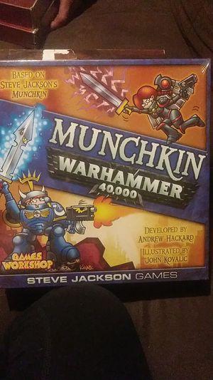 Munchkin Warhammer 40,000 game Games Workshop for Sale in Spokane, WA