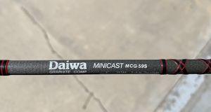 Daiwa 4 piece baitcaster travel fishing rod for Sale in Castaic, CA
