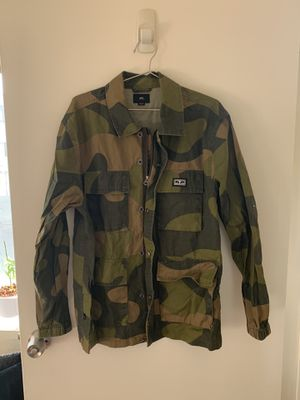 OBEY - Men's Shirt Jacket - Camo - Size Small but runs big for Sale in Los Angeles, CA