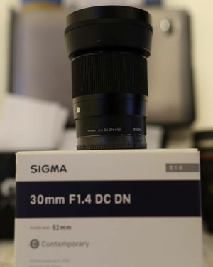 Sigma 30mm dc dn f1.4 for Sale in Detroit, MI