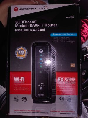 Modem and wifi router surf board for Sale in Austin, TX