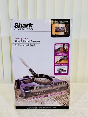 Shark® XL 13-Inch 2 Speed Rechargeable Floor and Carpet Sweeper V2950 - Lightweight & Maneuverable 👍 for Sale in Boynton Beach, FL