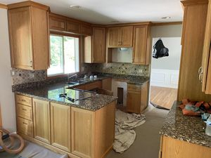Kitchen cabinets with countertops, sink for Sale in Downers Grove, IL
