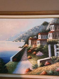 Framed Scenery $20 18 Inches By 26 for Sale in Miami,  FL