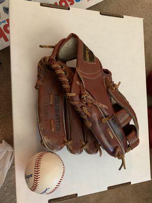 Kids baseball glove and ball for Sale in Nashville, TN