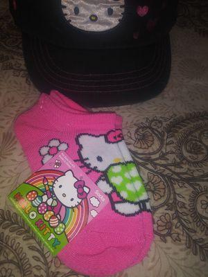 Girls Hello Kitty hat and socks for Sale in Phoenix, AZ