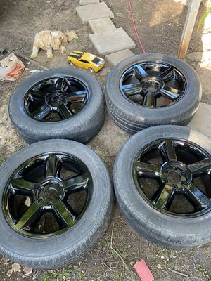 20in Gloss Black Ltz Wheels for Sale in Fort Worth, TX