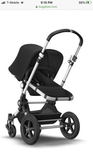 Used bugaboo chameleon stroller with brand new bassinet attachment. for Sale in Chino Hills, CA