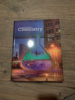Introductory chemistry zumdahl decoste for Sale in Orlando, FL