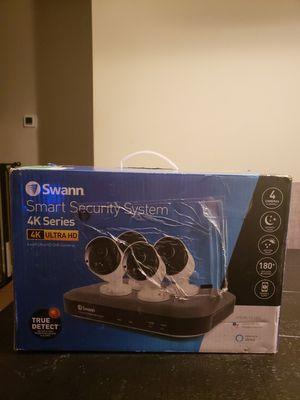 Swann 4 Camera 4 Channel 4k Ultra HD DVR CCTV kit for Sale in Matthews, NC