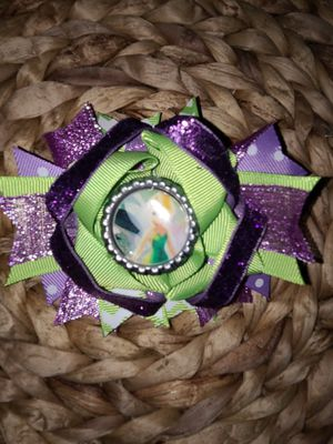 Tinkerbell Cat in the Hat gold unicorn monsters inc bows for Sale in South Gate, CA