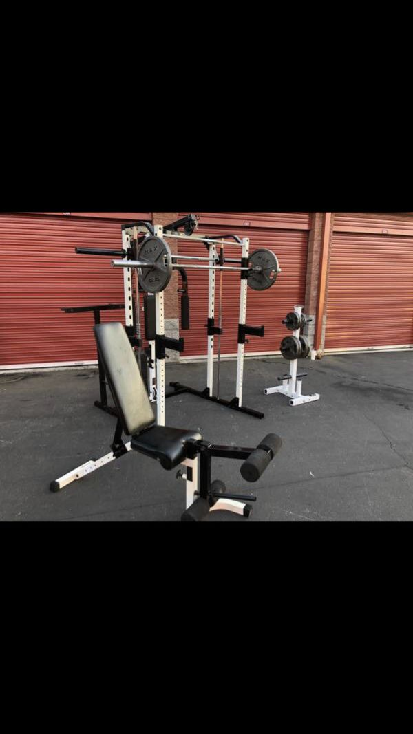 Yukon smith machine weight set home gym