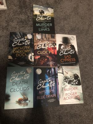 125th Anniversary Box Set of 7 Hercule Poirot Novels by Agatha Christie New!** for Sale in Fontana, CA