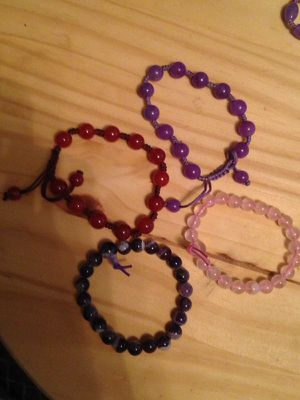 Glass bead bracelets for Sale in Nashville, TN