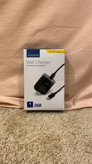 INSIGNIA wall charger for Sale in Renton, WA