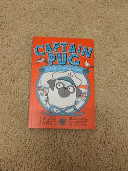 Book Captain Pug The Dog Who Sailed The Seas By Laura James for Sale in Happy Valley,  OR