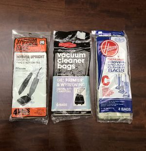 Vacuum Cleaner Bags - Set of 3 Packages - New in sealed Packages for Sale in Longwood, FL