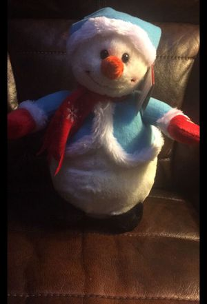 Snowman plush that sings and spins for Sale in Bowie, MD