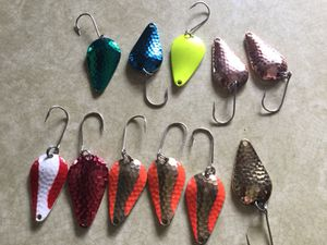 Fishing spoons for Sale in Twin Bridges, MT