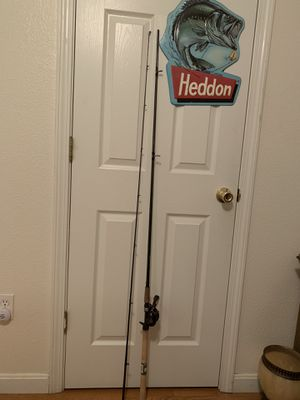 10ft 2pcs Shimano Clarus Pole Set Up for Sale in Stockton, CA