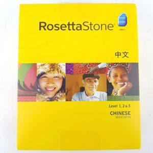 Rosetta Stone Chinese Madarin 1,2,3 for Sale in Mount Vernon, OH