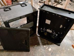 Metal Dual Fan Wall Mount Lockable Server Rack for Sale in Seattle, WA