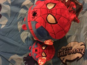 Spiderman TY plushies for Sale in Norman, OK