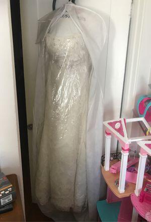 ***Maggie Soterro Wedding Dress- Size 8*** for Sale in Anaheim, CA