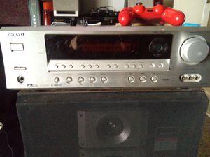 Onkyo reciever with sorround sound for Sale in Stockton, CA