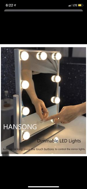 Hansong Hollywood Makeup Mirror | Cyber Monday deal!! for Sale in Las Vegas, NV