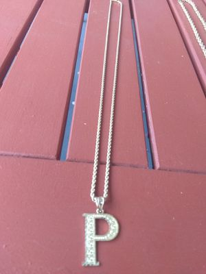 10k real gold p rope chain for Sale in Pasadena, CA