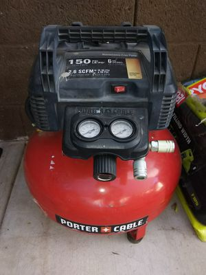 PORTER CABLE AIR COMPRESSOR for Sale in Glendale, AZ