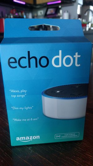 Echo dot, 2nd gen, white, perfect condition for Sale in Seattle, WA