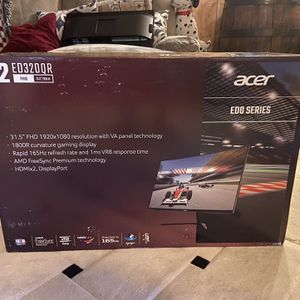 32In Acer Curved Gaming Monitor for Sale in Lakeside, CA