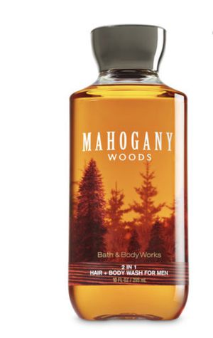 Bath & Body Works, Signature Collection 2 in 1 Hair + Body Wash, Mahogany Woods For Men, 10 Ounce for Sale in Sudley Springs, VA
